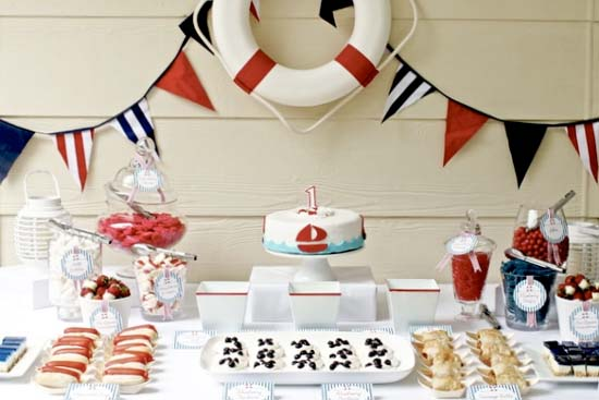 Anchors Away Nautical Birthday Party Ideas Mom Inc Daily