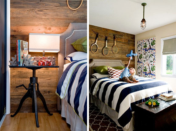 Decorate Striped Boys Room By Jute